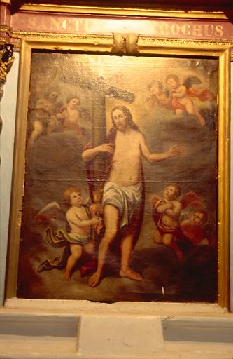 Tableau d'autel : Salvator