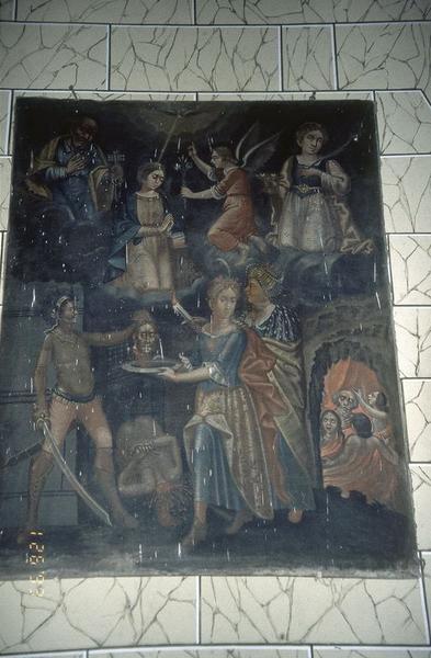 tableau : Décollation de saint Jean-Baptiste