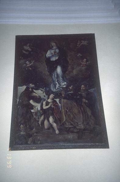tableau : Assomption, saint François, saint Jacques, saint Jean-Baptiste et saint Joseph