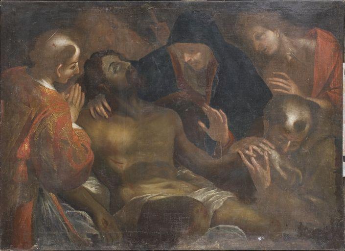 Tableau : Déploration du Christ par saint Charles Borromée (No 2)