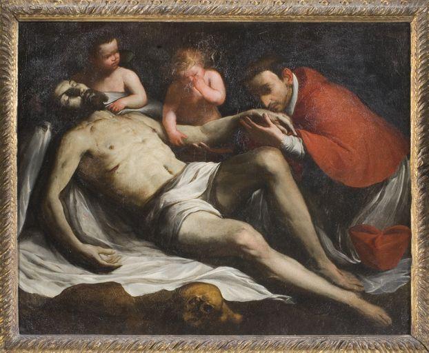 Tableau : Déploration du Christ par saint Charles Borromée (No 1)