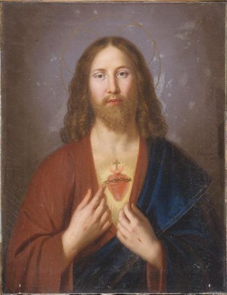 Tableau : Le Sacré Coeur de Jésus