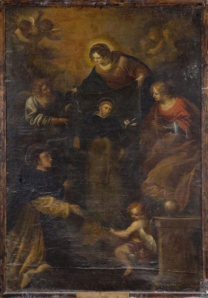 tableau d'autel : Le miracle de Soriano
