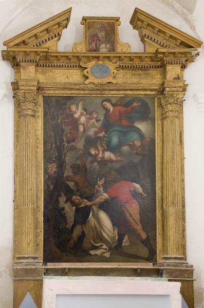 Tableau d'autel : Le martyre de saint Pierre de Vérone