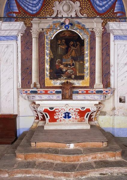 Ensemble du maître-autel de saint Jean-Baptiste
