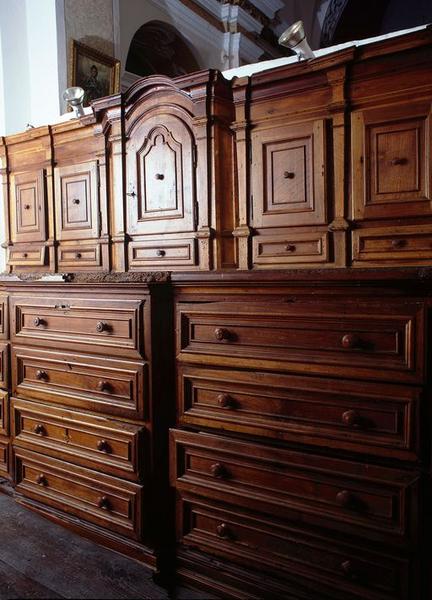 Le mobilier de l'église paroissiale Saint-André