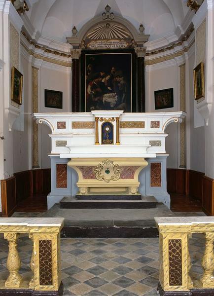 Ensemble du maître-autel de la Nativité