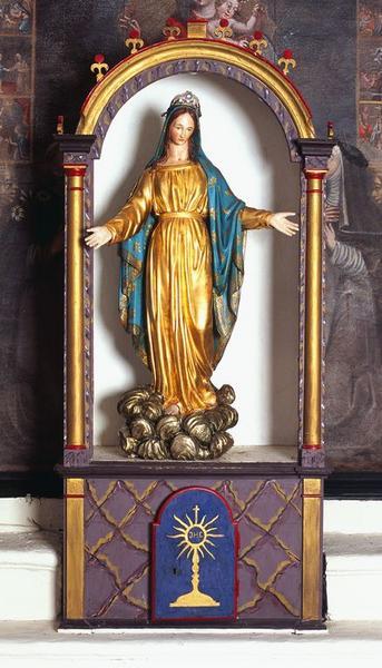 Statue (petite nature) : Notre-Dame des Grâces