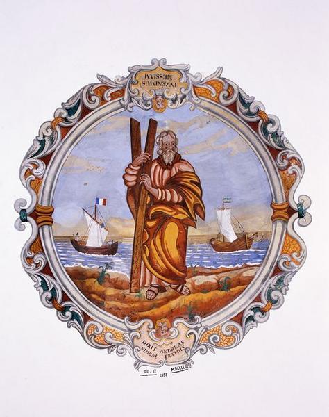 Peinture monumentale : Saint André