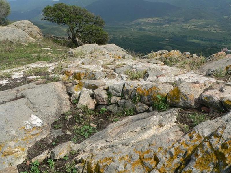 Château fort dit castellu di Cinarca