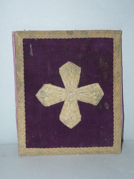 Manipule, bourse de corporal (ornement violet No 2)