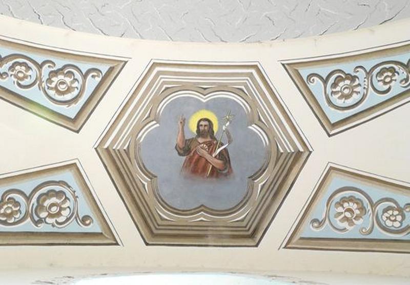 Peintures monumentales : Saint Jean-Baptiste