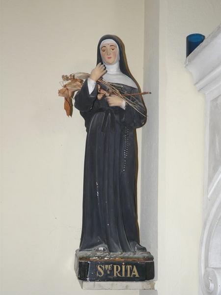 statue (statuette) : Sainte Rita