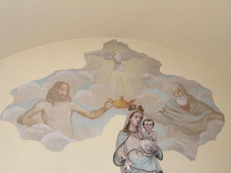 Peintures monumentales : Couronnement de la Vierge