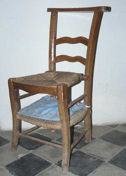 Chaise prie-Dieu (No 4)