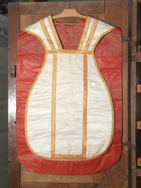 Chasuble (ornement blanc No 3)