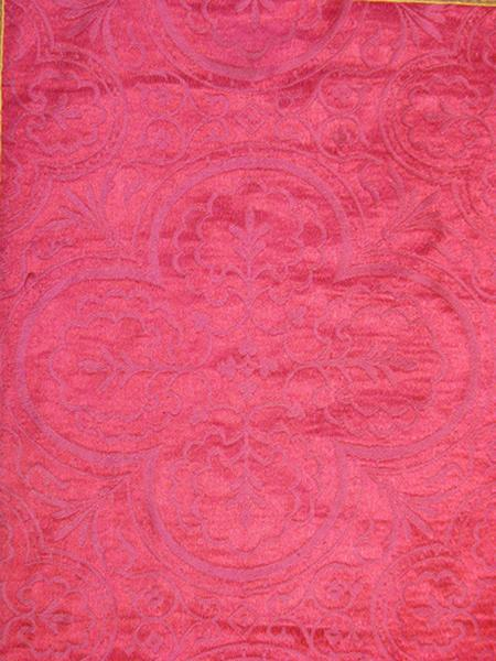 Chasuble, manipule, voile de calice (ornement rouge) No 1