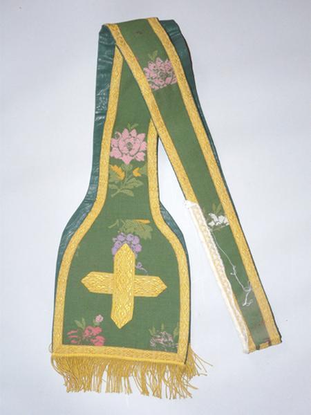 étole (ornement vert) No 6
