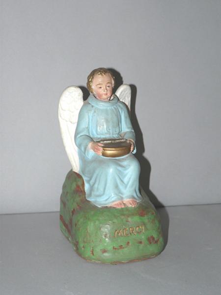 Statue (statuette)-tronc de quête