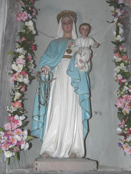 statue : Vierge à l'Enfant dite Notre-Dame du Rosaire