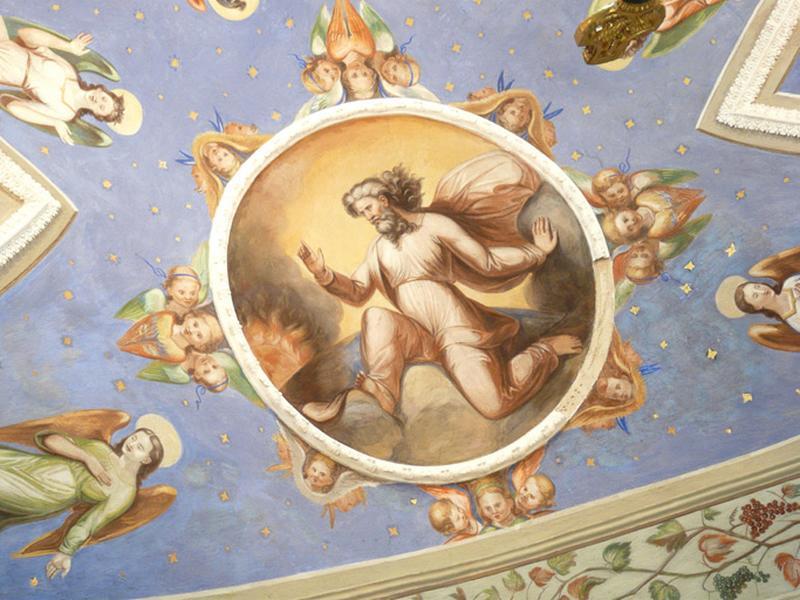 peintures monumentales : Dieu le Père