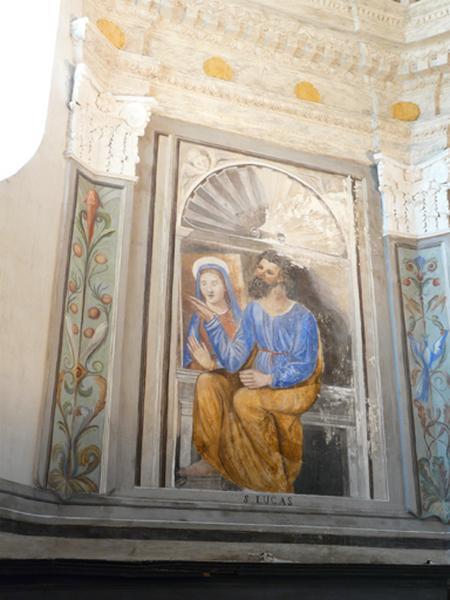 peintures monumentales : Saint Luc