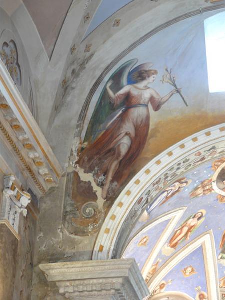 Peintures monumentales : Annonciation