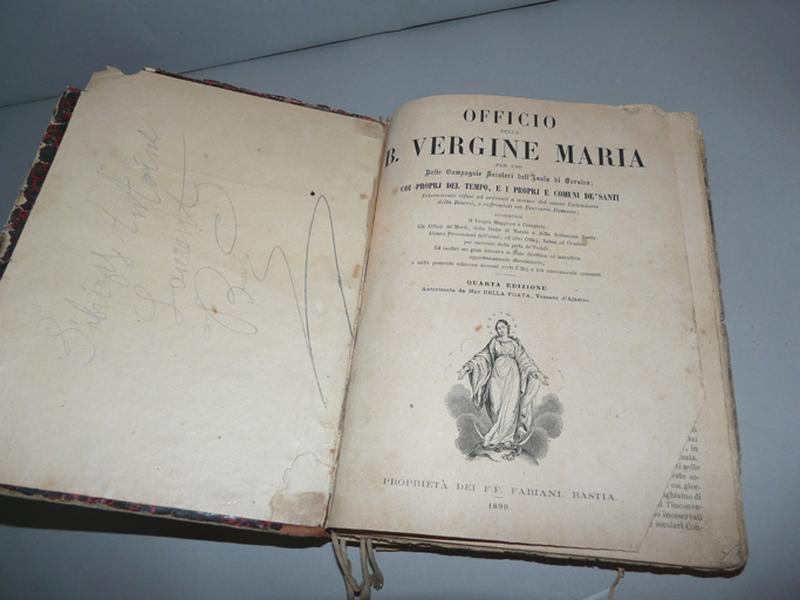 Livre : Office de la Bienheureuse Vierge Marie (No 3)