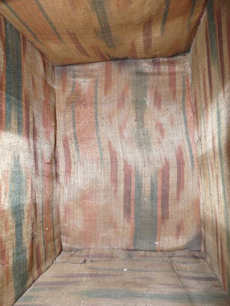 morceau de tissu (garniture de tabernacle)