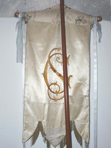 bannière de procession : Sacré-Coeur