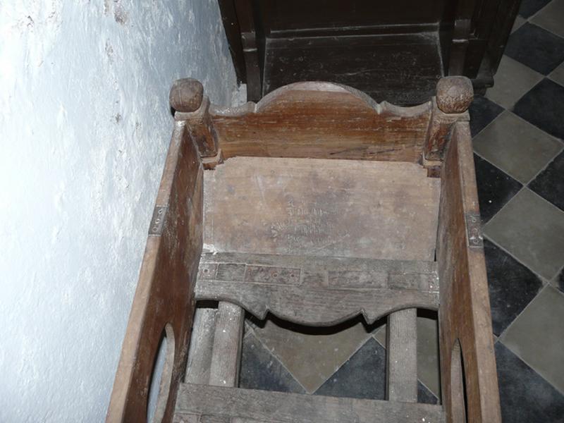 Brancard funéraire dit catalettu