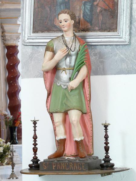 Statue (petite nature) : Saint Pancrace