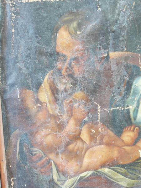 Tableau : Saint Joseph et l'Enfant Jésus