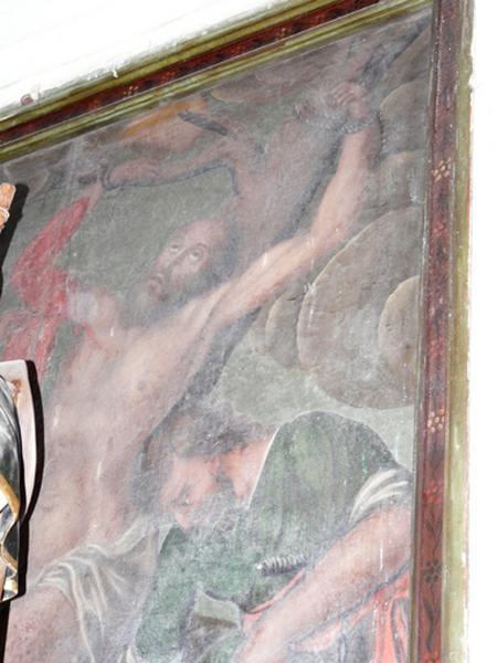 Tableau d'autel : Martyre de saint Barthélémy