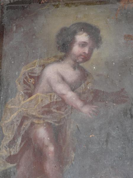 tableau : Apparition de l'Enfant Jésus à saint Antoine de Padoue