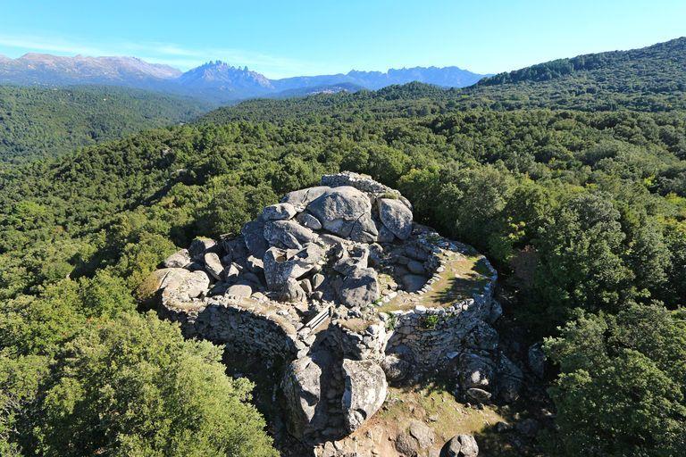 site archéologique dit casteddu de Cucuruzzu