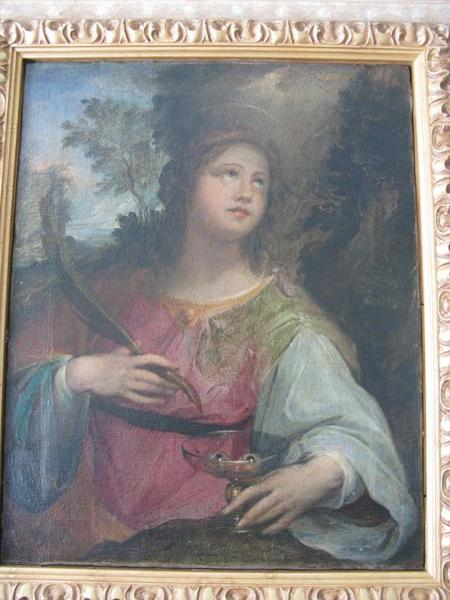 tableau : Sainte Lucie