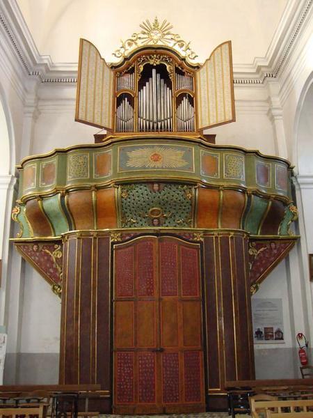 orgue, buffet d'orgue, tribune d'orgue