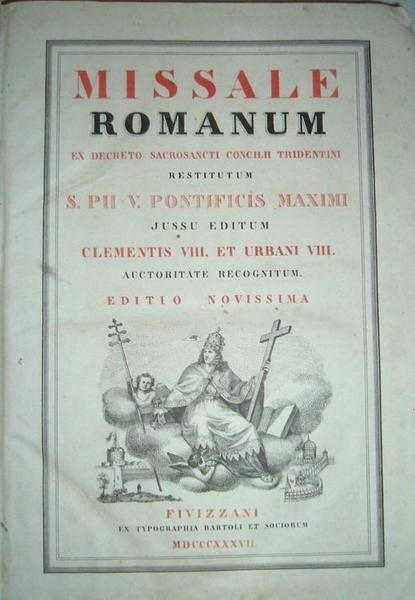 Livre : missel romain