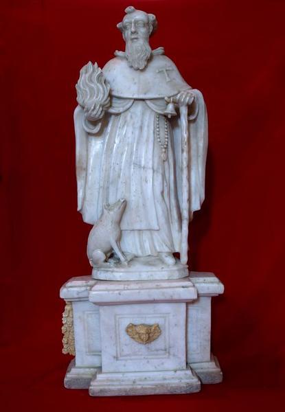 Statue (statuette) : Saint Antoine abbé