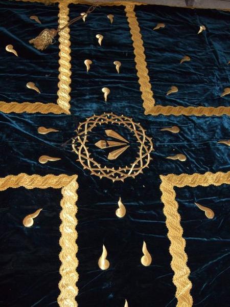 Drap mortuaire de la confrérie de pénitents sainte Marie-Madeleine (No 1)