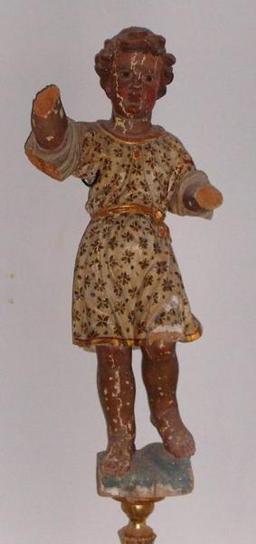 Statue (petite nature) : Enfant Jésus