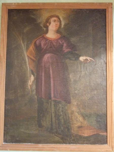 Tableau : Sainte Barbe