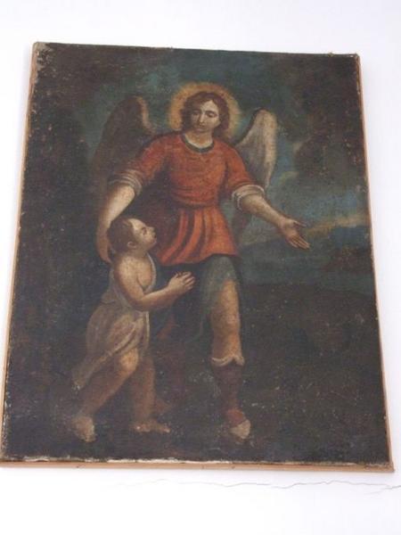 tableau : L'ange gardien