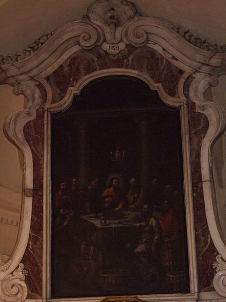 tableau d'autel : La Cène