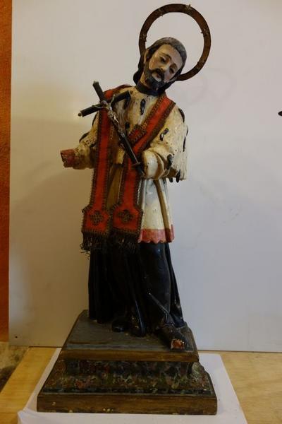 statue (demi-nature) : Saint Jean Népomucène