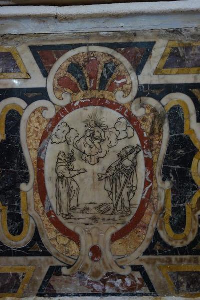 autel secondaire de saint Antoine de Padoue (autel, retable)