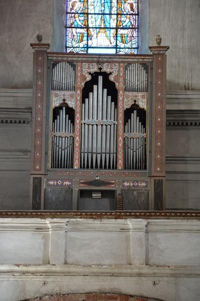 orgue de tribune, partie instrumentale de l'orgue