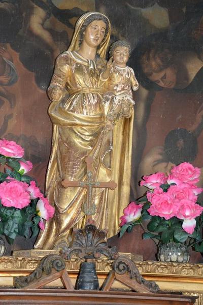 statue : Notre-Dame des Grâces
