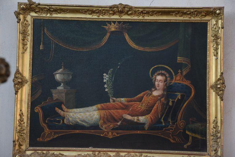 tableau : Sainte Philomène
